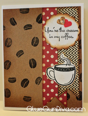 Coffee Lover Valentines Day Card