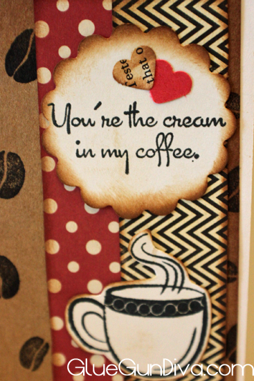 Sentiment coffee love card