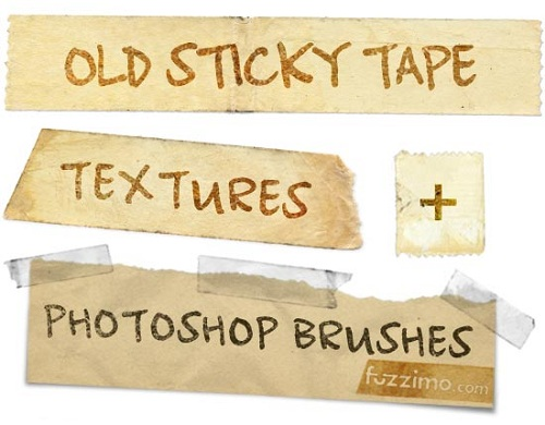 old sticky tape